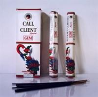 Call Clients / Привлечение клиентов благовоние Ppure 6-гранки