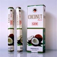 Coconut / Кокос благовоние Ppure 6-гранки