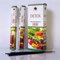 Detox Очищение ауры и биополя благовония Ppure 6-гранки