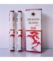 Dragon Blood / Кровь дракона благовоние Ppure 6-гранки