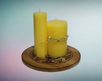 Лимон мистическая свеча