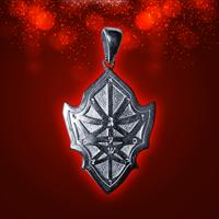 Амулет Щит Победителя или Достижение цели серебро (№6 )