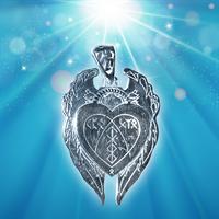 Амулет Щит Божественная любовь серебро