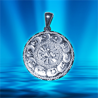 Амулет Ассирия - Деторождение серебро