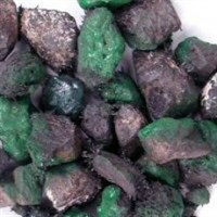 Зеленый магнит Большой (пара)