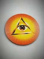 Всевидящее Око 2 подставка под благовония (цветная)