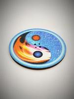 Инь- Ян 6 подставка под благовония (цветная)