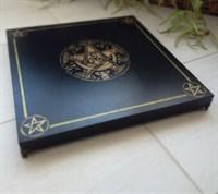 Алтарный столик 5 пентаграмм черный