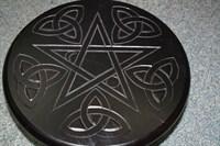 Алтарный столик черный