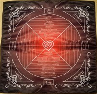 Скатерть-таблица ЛЮБОВНАЯ МАГИЯ