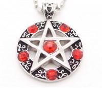 Красная пентаграмма