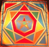 Звезда Эноха -Звезда Ангелов скатерть-алтарь