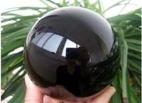 Шар Черный обсидиан 10 см