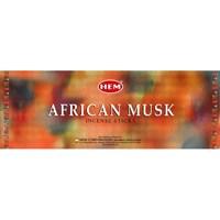 African Musk - Африканский муск  благовоние Hem 6-гранки