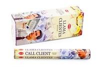 Call Clients (№24) / Привлечение клиентов  благовоние Hem 6-гранки