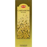 Cardamon (№26) / Кардамон благовоние Hem 6-гранки