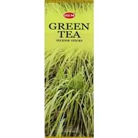 GreenTea / Зеленый  чай благовоние Hem 6-гранки
