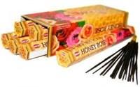 Honey - Rose (№88)/ Мед - Роза благовоние Hem 6-гранки