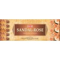 Sandal - Rose (№151) / Сандал - Роза благовоние Hem 6-гранки