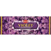 Violet (№174)/ Фиалка благовоние Hem 6-гранки