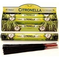 Citronella (№39) / Цитронелла благовоние Tulusi 6-гранки