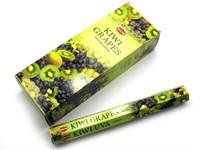 Kiwi-Grapes (№96)/ Киви-Виноград благовоние Hem 6-гранки