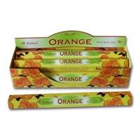 Orange / Апельсин  благовоние Tulusi 6-гранки
