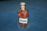 Сердолик (карнелиан): камни в бутылочке