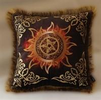 Подушка Солнечная Пентаграмма