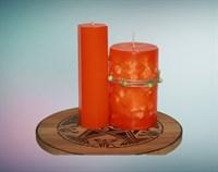 Мандарин мистическая свеча