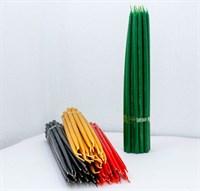 Маканые свечи (4 цвета) 32 см 1 шт