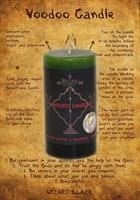 Компонент работы с мертвыми – призыв свеча Вуду